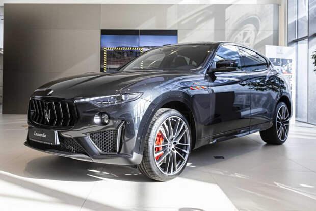 Обновленный Maserati Levante в России: теперь и V8