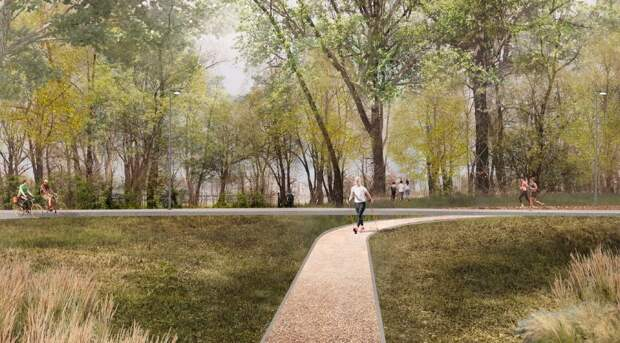 Новосибирские «Сокольники»: возле нового ЛДС разобьют огромный парк — изучаем проект