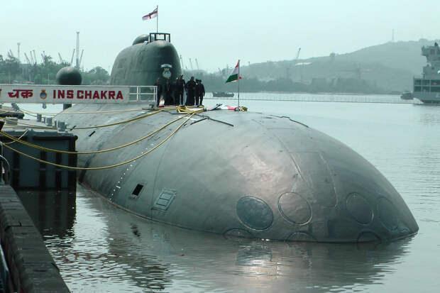 Индия возвращает арендованную у России атомную подлодку