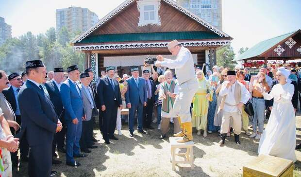 «Часть культурного кода татарского народа»: ВЧелнах отпраздновали Сабантуй