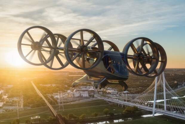Обзор летающего автомобиля Bell Nexus - аэротакси будущего!