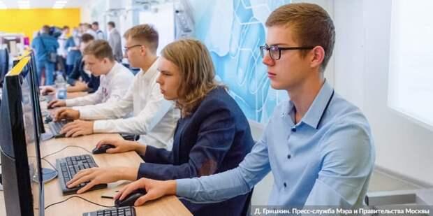 Собянин: Московские студенты возвращаются к очному обучению/Фото: Д. Гришкин mos.ru