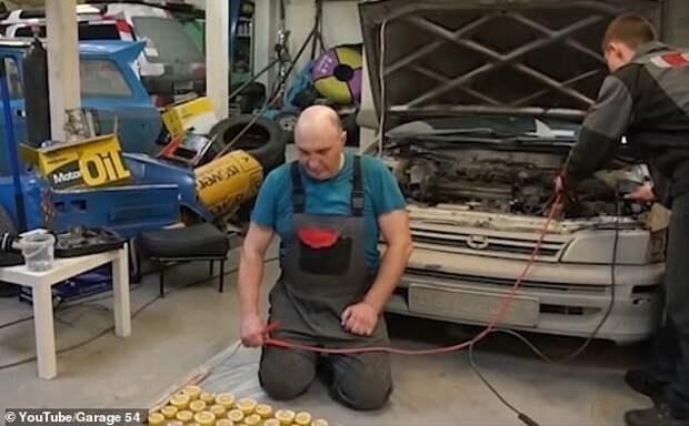 Итак, получится ли завести машину от 1000 половинок лимонов? youtube, авто, автомобили, видео, лимоны, машины, эксперимент, эксперименты