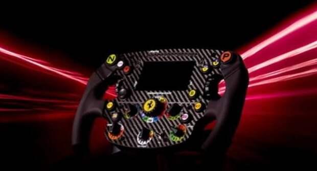 В Сети показали невероятно реалистичный руль Ferrari SF1000 F1 от Thrustmaster