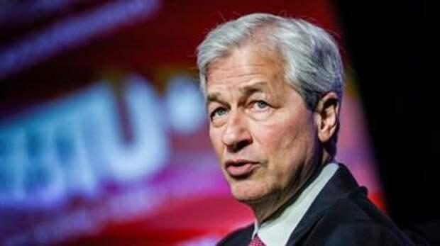 """Глава JPMorgan: """"Мы должны радоваться росту экономики США"""""""