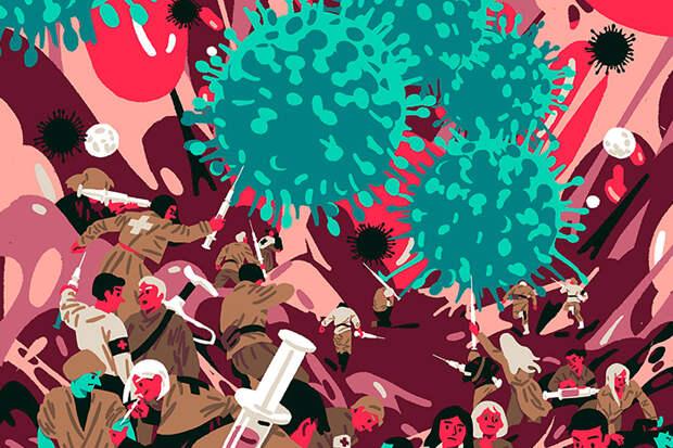 Недуги, с которыми столкнулось человечество. \ Фото: theoryandpractice.ru.