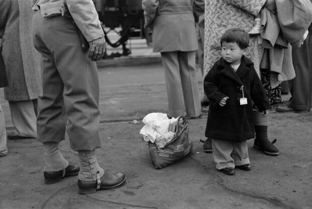 Насильственное переселение японцев в США.