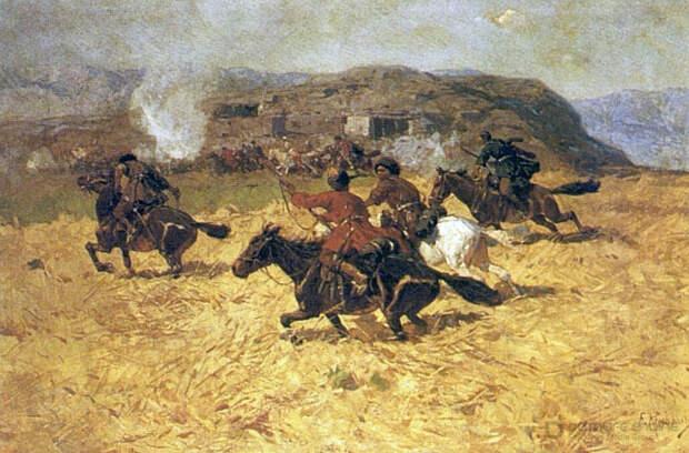 Заимствование черкесами штыкового боя у русских было в принципе невозможно