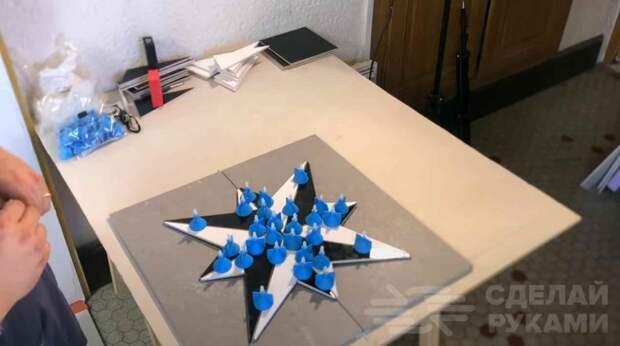 Как сделать узор «роза ветров» в облицовочной плитке