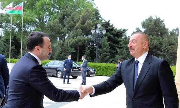 Как грузинский премьер Гарибашвили станцевал в Баку под чужую дудку