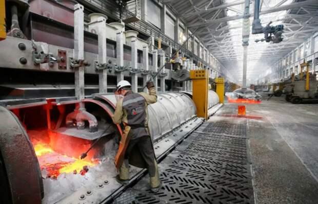 """""""РусАл"""" ожидает дефицита на рынке алюминия в ближайшие 5 лет"""