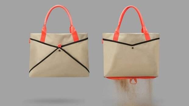 пляжная сумка и сетка