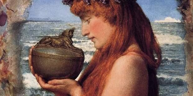 В греческом мифе Пандора открыла ящик