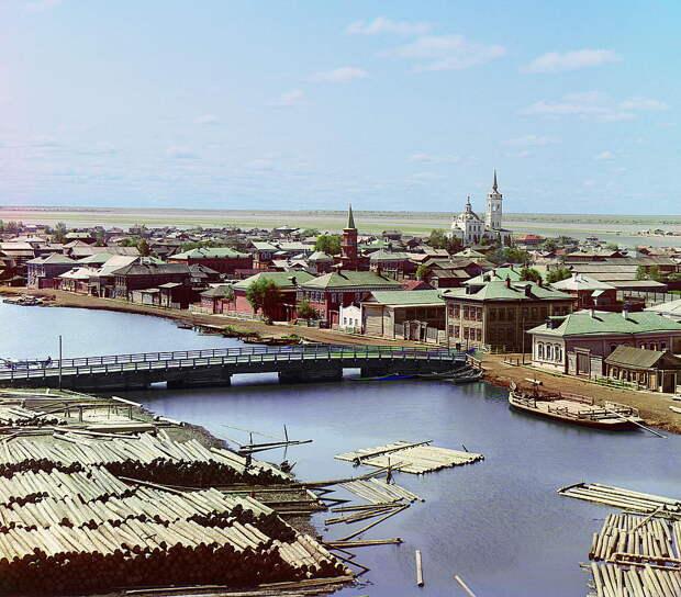 цветные фотографии Прокудина-Горского