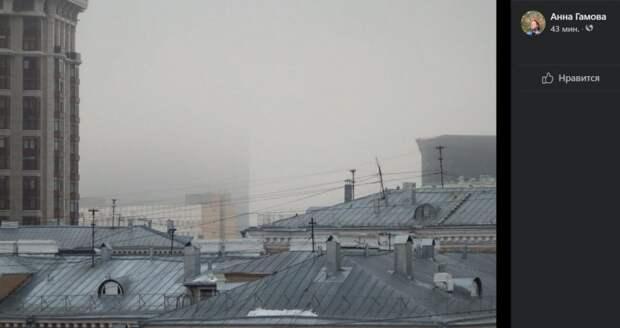 Фото дня: туман над районом Сокол