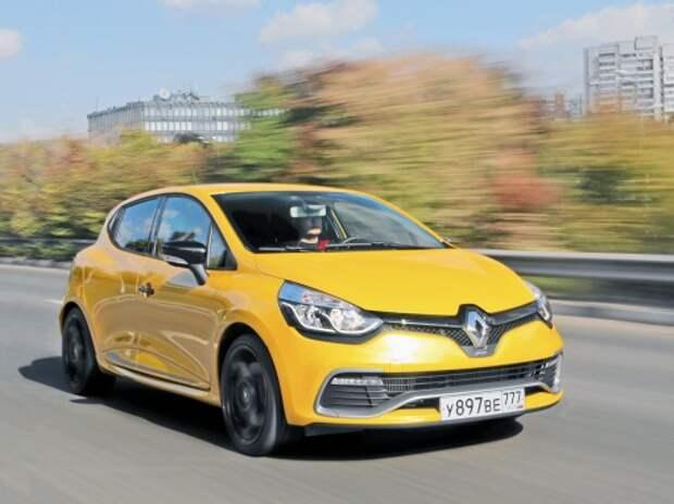 Тест Renault Clio RS: большая разница