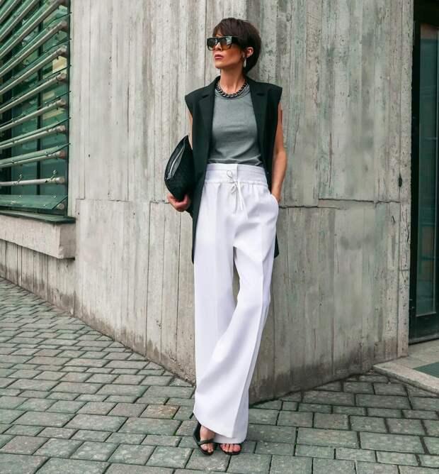 5 модных приемов с брюками, чтобы сделать весенний образ невероятно элегантным