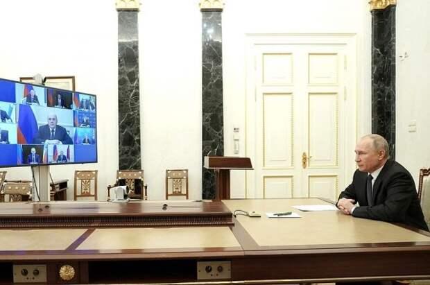 Путин проведет совещание с постоянными членами Совбеза РФ