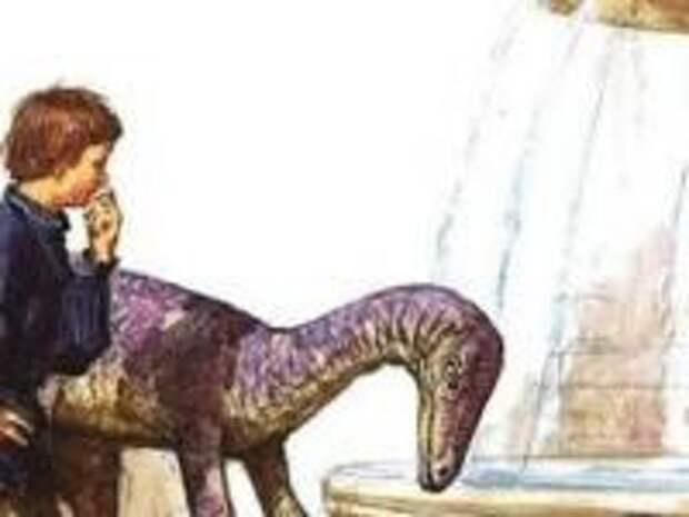 Динозавры были у гигантов древности домашними животными