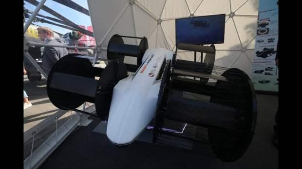 В России начали разрабатывать летающий автомобиль с циклическими движителями