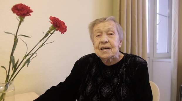Валентине Алексеевне скоро 99!