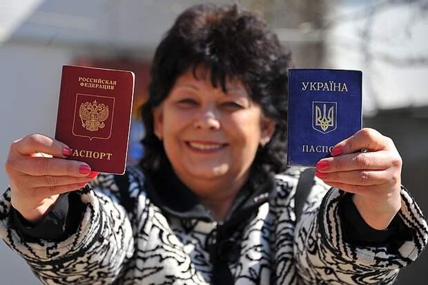 Полмиллиона украинцев получили российское гражданство в прошлом году