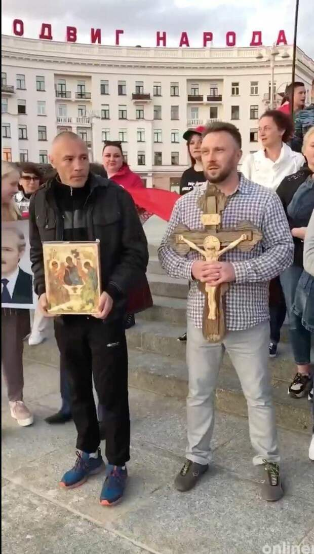 Очередной ФЕЙК от координаторов путча в Беларуси Nexta Live