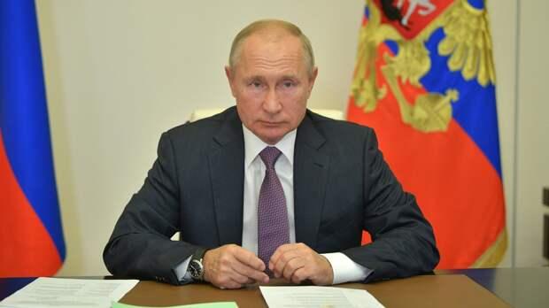 Путин призвал Израиль и Палестину к прекращению насилия