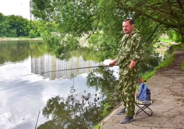 Рыбалка на Люблинских прудах / Фото: Денис Афанасьев