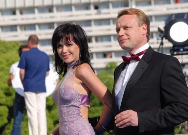 Сергей Жигунов и Анастасия Заворотнюк. / Фото: www.lemurov.net