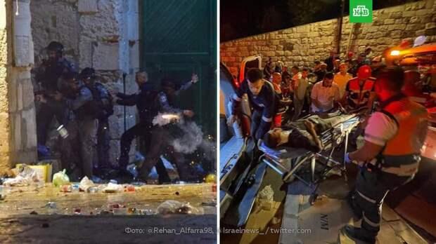 Свыше 200 человек пострадали в столкновениях в Восточном Иерусалиме
