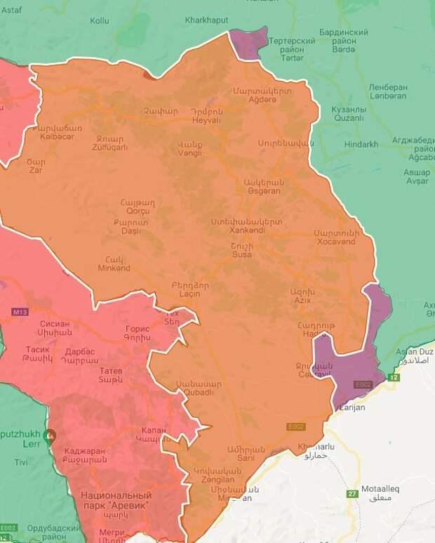 """""""Перемирия в Карабахе нет"""""""