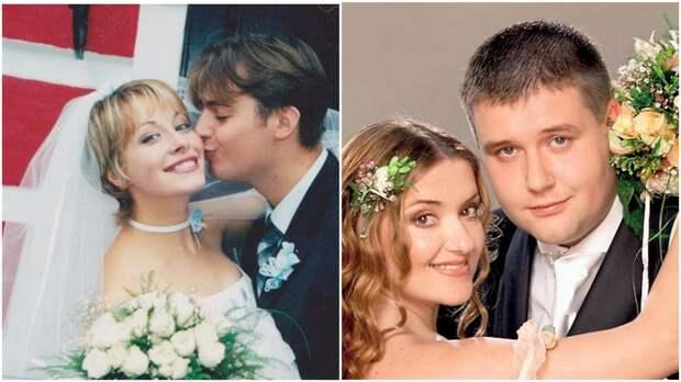 Какими были свадебные платья Ольги Сумской, Елены Кравец, Натальи Могилевской, Ирины Билык?