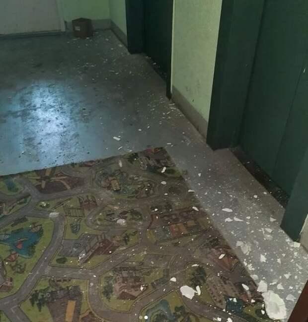 Жители возмущены последствиями ремонта в доме на Дмитровском