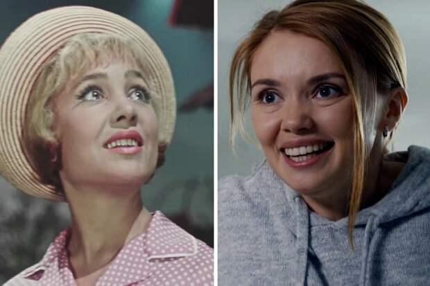 Сравниваем, как выглядели современные и советские актрисы в том же возрасте