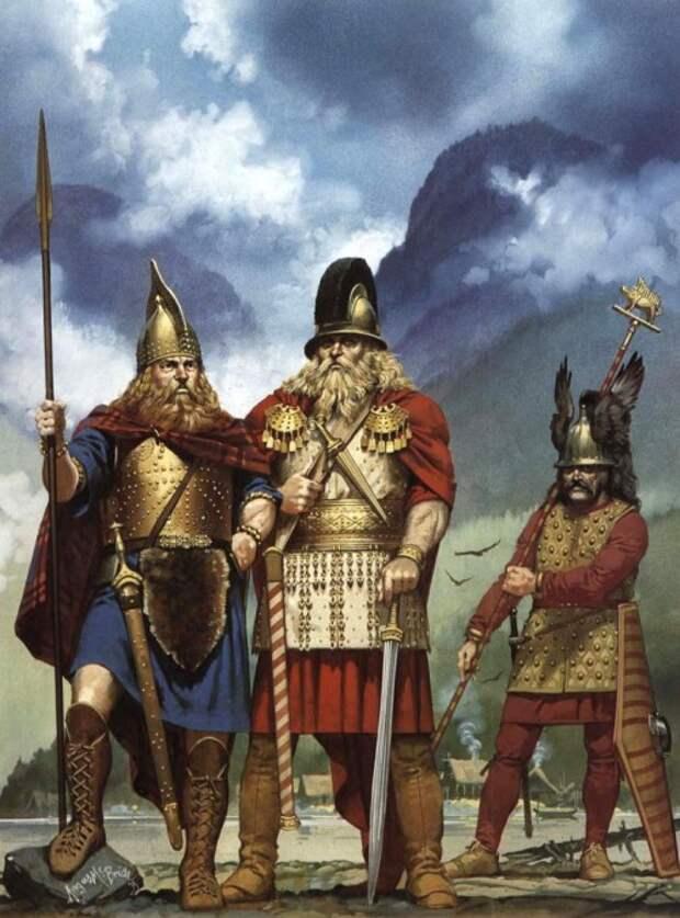 Кельты на берегу озера Галльштатт (вторая половина VI в. до н.э.)