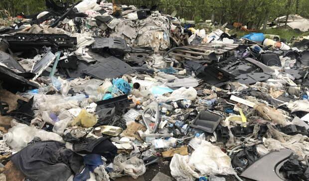 1млрд ущерба нанес природе незаконный мусорный полигон вСвердловской области