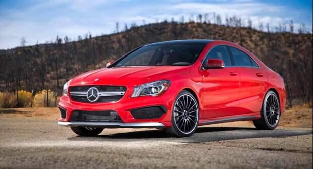 Для любителей свободы и драйва — седан Mercedes-Benz CLA