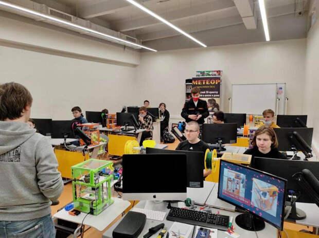 Возобновляются занятия в детском технопарке «Калибр»