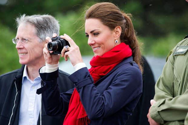 Кейт Миддлтон призналась, что её дети не любят фотографироваться