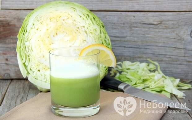 Домашние средства, помогающих при желчнокаменной болезни: капустный сок