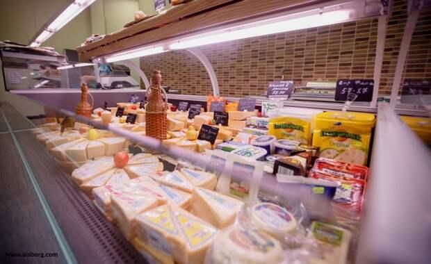 Забитые продуктами прилавки магазинов в «голодающей России» вызвали бурную реакцию у немцев