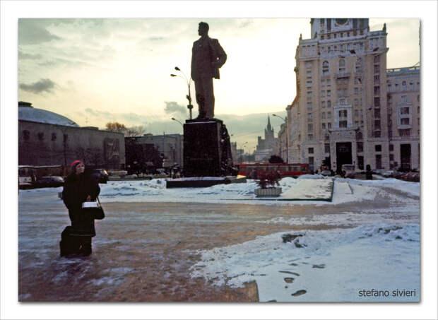 13 фотографий зимы 1990 года от итальянского гостя