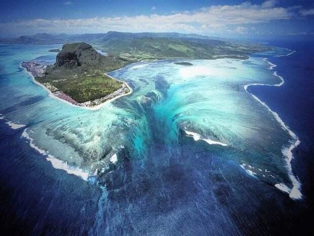 Потрясающая природная иллюзия