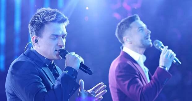 Топалов и Лазарев воссоединились на съемках музыкального шоу