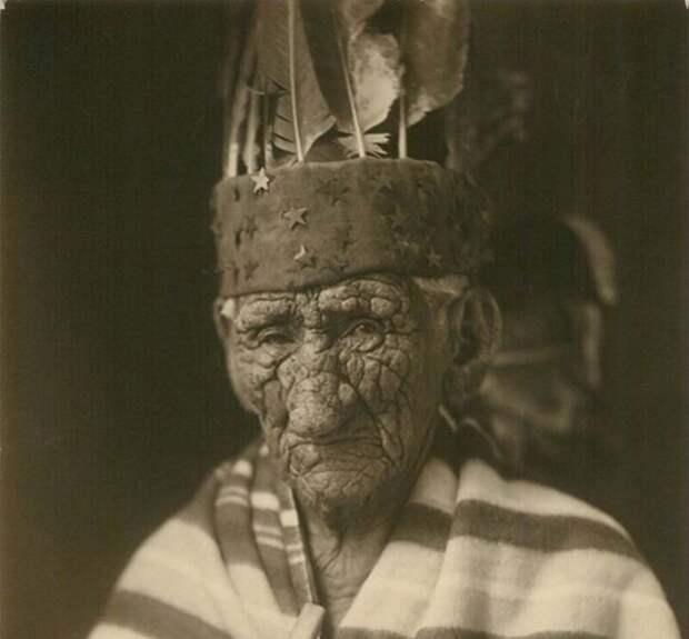 Джон Смит или вождь Белый Волк, самый старый индеец, который якобы прожил 138лет