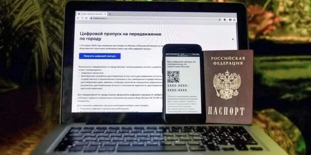 Лишь треть горожан подтвердили данные по ранее аннулированным пропускам Фото: mos.ru