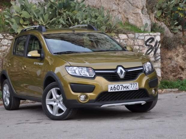 Оператив ЗР: Renault Sandero Stepway – пока с «механикой»
