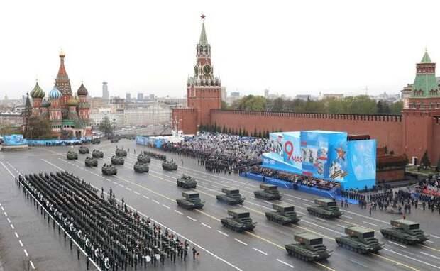Названы пять лучших вооружений на параде Победы в Москве