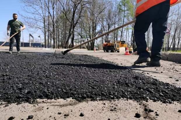 Ремонт улицы 2-я Батарейная начался в Иркутске